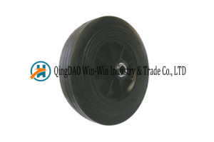 10 Inch Solid Rubber Wheel for Hand Trolley pictures & photos