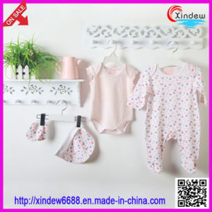 Cotton Girl Baby′s Wear Set pictures & photos