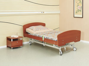 Electric Two Functions Homecare Bed pictures & photos
