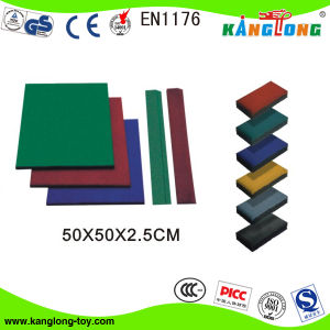 Enviromental Friendly Rubber Mat for Outdoor (KL 219A) pictures & photos