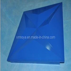 Moistureproof Blue Metal 3D Decorative Board for Wall Decoration pictures & photos