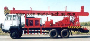 300m drilling depth truck mounted, SIN300st rotary water well drilling rig pictures & photos