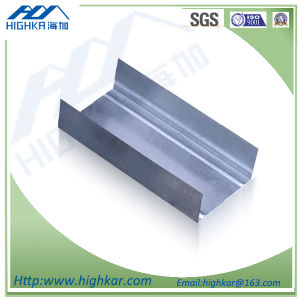 Drywall System U Vertical Channel Galvanized Steel Keel pictures & photos