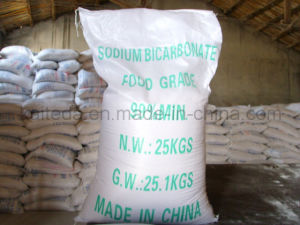 99-100.5% Food Grade Nahco3 Sodium Bicarbonate pictures & photos