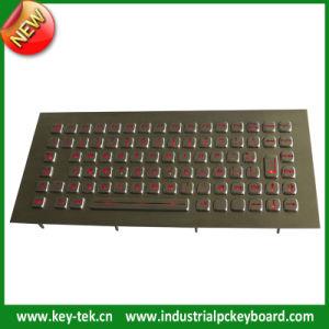 IP65 Dynamic Rugged Metal Industrial Illuminated Keyboard