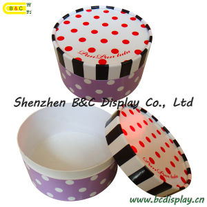 Roundness Gift Box, Cardboard Folding Gift Box, Craft Box (B&C-I013) pictures & photos