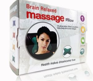 Bone Shape Vibrating Car Massage Pillow pictures & photos