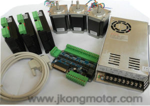 NEMA23 Stepper Motor 3 Axis CNC Router Kit pictures & photos