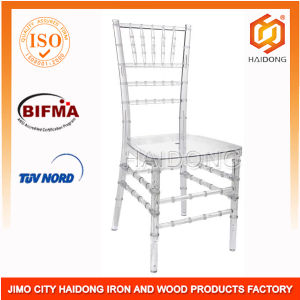 Clear Polycarbonate Resin Chiavari Chair for Banquet pictures & photos