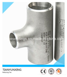 ANSI Seamless Ss304 Ss316 Stainless Steel Reducing Tee pictures & photos