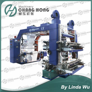 4 Color Shopping Bag Printing Machine (CH884 Series) pictures & photos
