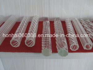 Clear Pyrex Glass Profile Tubing, Rod pictures & photos
