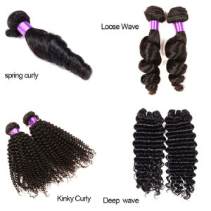 Brazilian Virgin Hair Straight, 100% Human Hair Extensions, Virgin Brazilian Hair Extensions pictures & photos