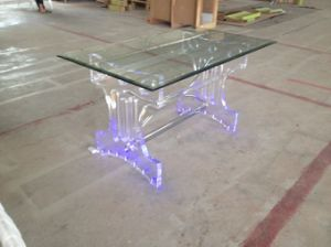 Plexiglass LED Dining Table