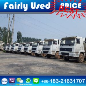 Used 336/371/375HP HOWO Conceret Mixer of Concrete Mixer