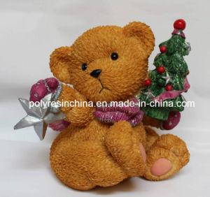 Resin/Polyresin Bear for Christmas Gifts pictures & photos