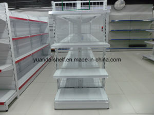 Wire Mesh Supermarket Goods Display Shelves pictures & photos