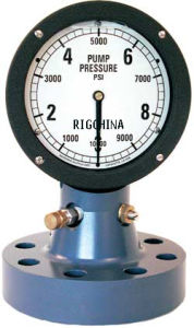 Flanged Mud Pump Pressure Indicator (TYPE F-4) pictures & photos