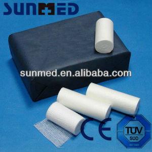 Bleached Cotton Gauze Bandage pictures & photos