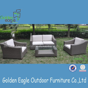 Half Round Rattan with Modern Design Outdoor Sofa Set