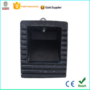 Factory Made Parking Used Rubber Wheel Chock pictures & photos