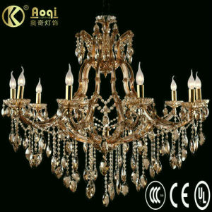 Luxury Crystal Chandelier Lamp (AQ10102-10+1) pictures & photos