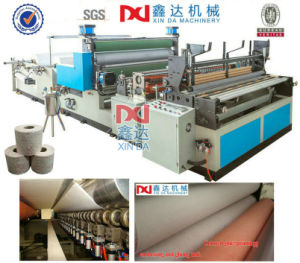 Hand Towel Tissue Roll Making Automatic Machine pictures & photos