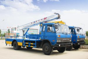 Folding Arm Hydraulic Lift Truck pictures & photos