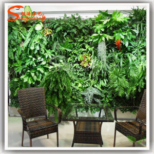 Three-Dimensional Wall Decoration Grass Wall Decor Artificial Grass Wall pictures & photos
