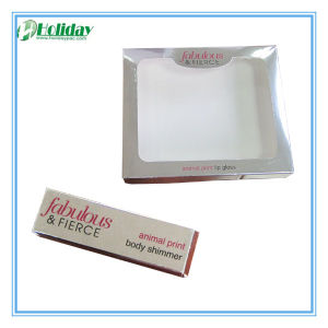 Silver Color Cosmetic Paper Box