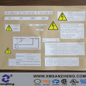 Customized Warning Sign Sticker (SZ14071) pictures & photos