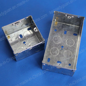 Metal Switch and Socket Boxes for Electrical Wire pictures & photos