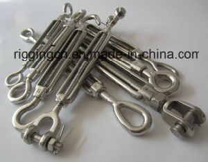 Stainless Steel Turnbuckle in Hook to Eye, Eye to Eye, Hook to Hook, Grade 316 or Grade 304 pictures & photos