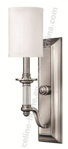 Classic Style Wall Light with Nickel Color (C006-1W) pictures & photos