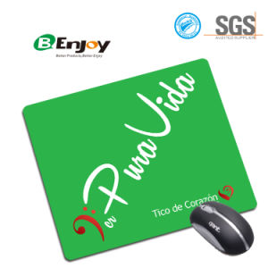 Hot Selling Eco Friendly Nature Rubber Green Custom Mouse Pad pictures & photos