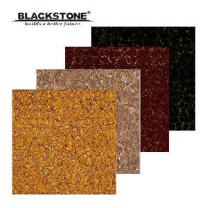 Polished Porcelain Floor Pilates Tile with Dark Colors (JL6008) pictures & photos