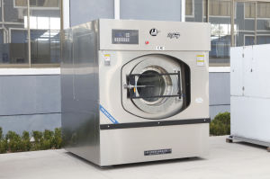 100kg Automatic Industrial Laundry Machine Washer Extractor (XGQ-100F) pictures & photos