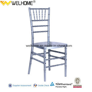 Silver Color Resin Chiavari Chair for Wedding/Party/Event pictures & photos