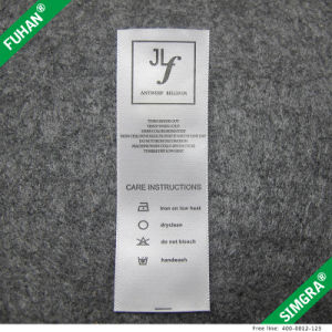 Eco-Friendly Satin Printed Care Label for Clothing pictures & photos