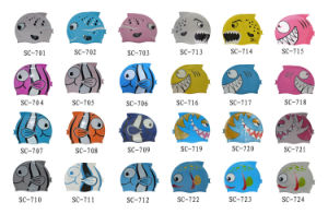 Colorfulworldstore Cartoon Swimming Cap-Lovely Fish Silicone Swimming Cap-Children′s Swim Cap Hat pictures & photos