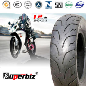 10 Inch Rubber Motorcycle Tire (120/90-10) (130/70-16) pictures & photos