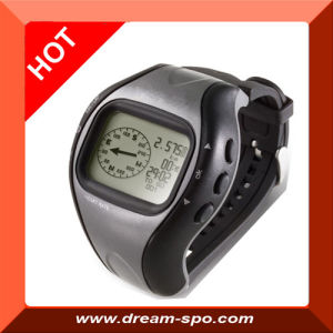 GPS Locator with Stop Watch, Pedometer Watch (DG-6)