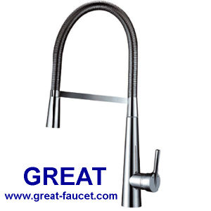 High Quality Big Fashion Spring Kitchen Faucet pictures & photos