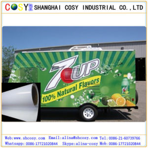 PVC+Siliconized Plane Paper Material Self Adhesive Printable Vinyl for Digital Printing & Car Wrapping pictures & photos