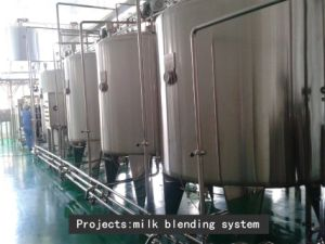 Full Automatic 2000L/H Fresh Milk Production Line pictures & photos