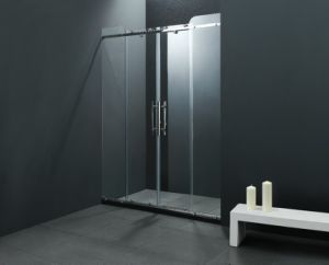 Bathroom Tempered Glass Shower Screen (BA-L819) pictures & photos