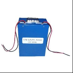 RoHS Approved LiFePO4 Energy Storage System 24V 60ah
