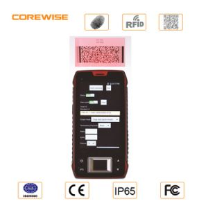 Touch Screen Wireless Built-in GPS GSM PDA Terminal Mobile Handheld with WiFi pictures & photos