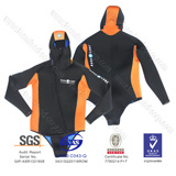 Men Neoprene Spearfishing Suit Wetsuit Hooded Jacket pictures & photos