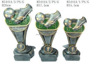 Polyresin Soccer Trophy (85441A)
